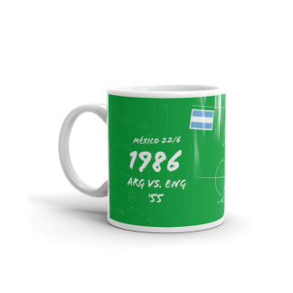 Mug with goal of Argentina - Diego México 1986