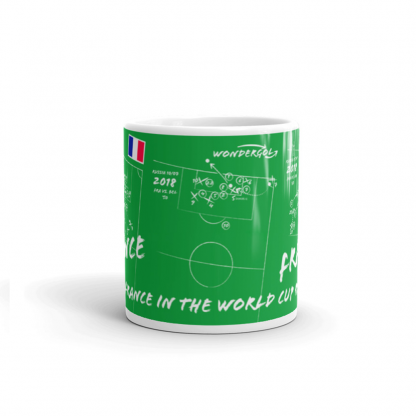Mug with goals of France- Russia 2018