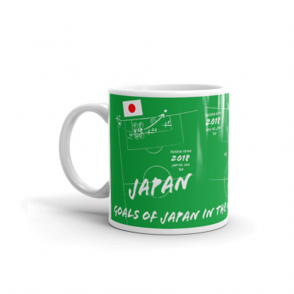 Mug with goals of Japan - Russia 2018