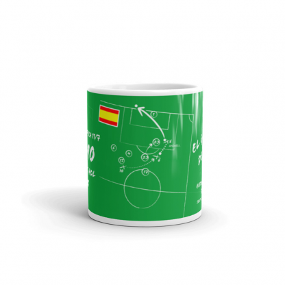 Mug with goal of Spain - Andres South Africa 2010
