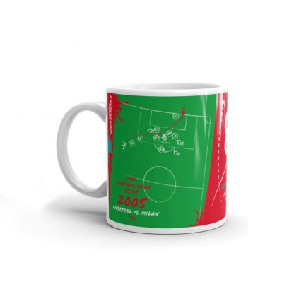 Green mug goal Liverpool vs Milan 2005