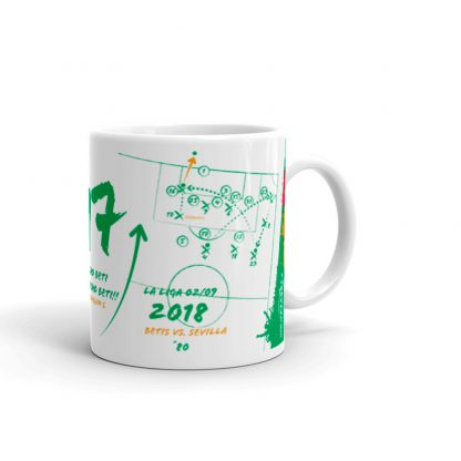 Mugs Goal by Joaquin - Betis 2018 La Liga - Colour Green