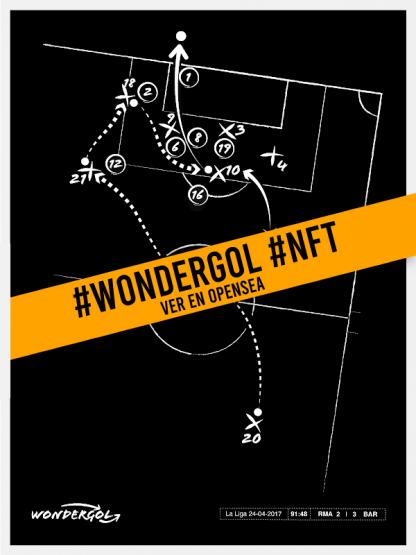 Wondergol FCB #009