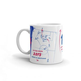 White mug goal barca vs realmadrid left