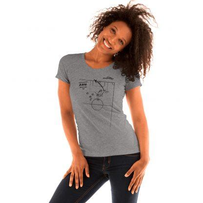 Camiseta con gol de Iniesta en la final del mundial 2010 - mujer- hetaher