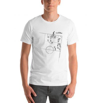Camiseta con gol de Rodrigo al Barcelona