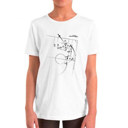 Camiseta con gol de Rodrgio al Getafe color blanca