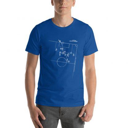 camiseta con Gol de Gabriel Jesus a Peru en Final de la Copa America 2019 - blue (1)