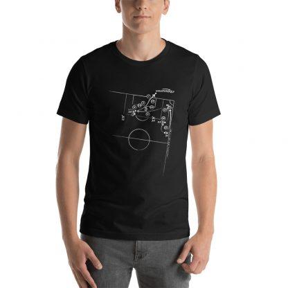 Camiseta con el gol de Aduriz al Barcelona - negra