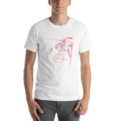 Camiseta con el gol de Aduriz al Barcelona - blanca