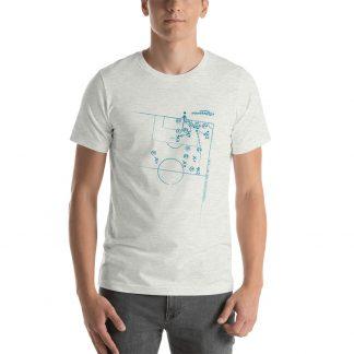 Camiseta con el gol del chelo diaz a independiente - ash