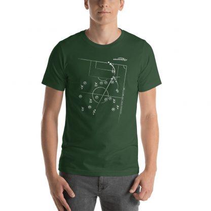 Camiseta con Gol de Di María a Brazil en la final de la copa América 2021 - Verde